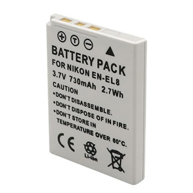 Nikon Coolpix S51 Battery